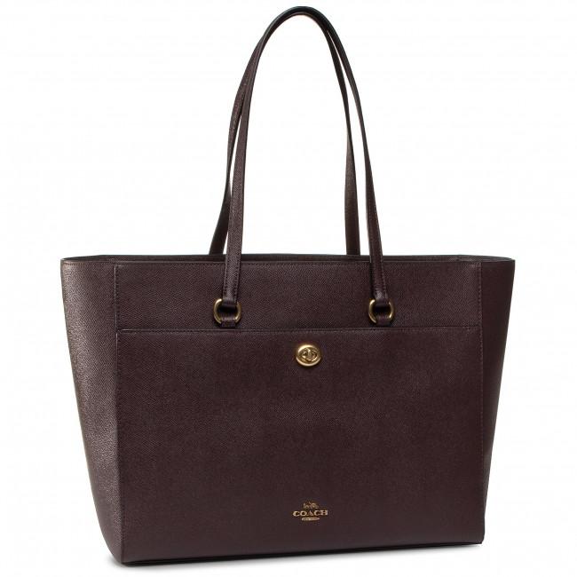 Handbag COACH - Xgrn Ltr Folio Tot 78246 B4OXB B4/Oxblood