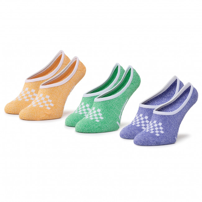 3 Pairs of Women's Footsies VANS - Cmarlc VN0A49Z9VCX1 r.37-41 Primary M