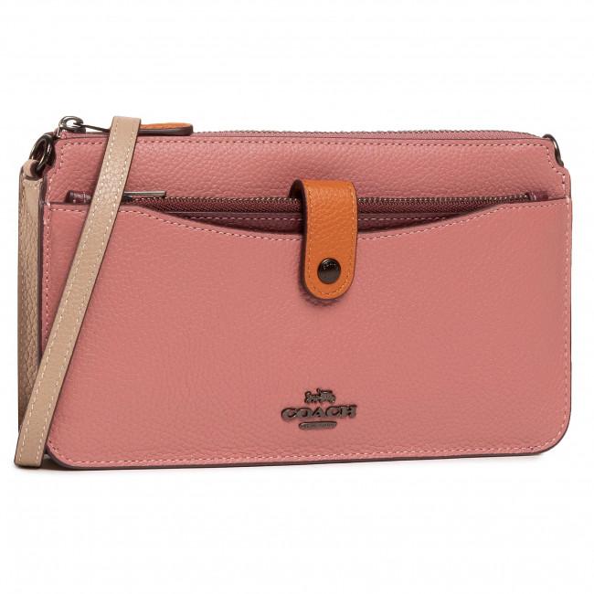Handbag COACH - Clrblk Noa 31864 V5NGU V5/Vitage Pink Multi