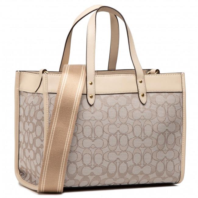 Handbag COACH - Sig Jacq Fld Tot 30 C3282 B4SHG B4/Stone Ivory