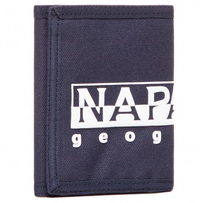 Large Men's Wallet NAPAPIJRI - Happy Wallet 2 NP0A4EU51 Blu Marine 761