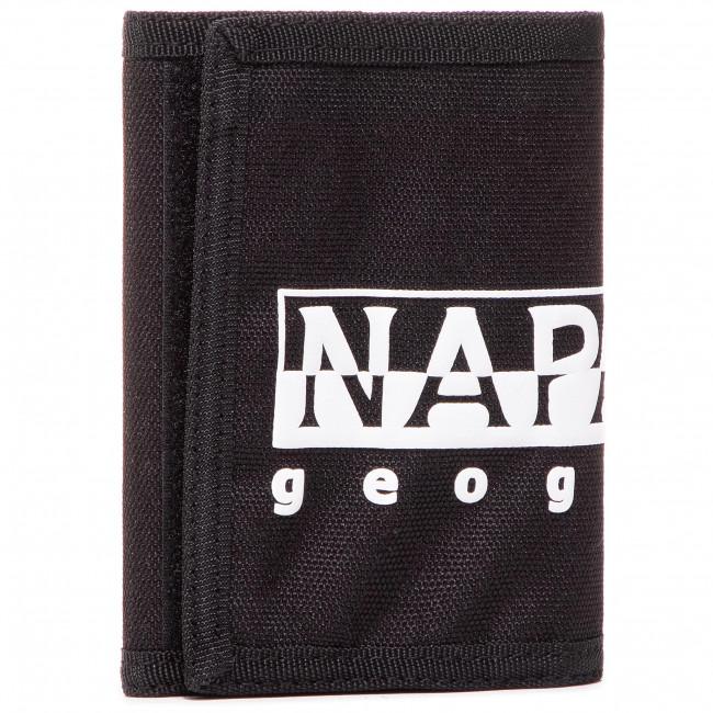 Large Men's Wallet NAPAPIJRI - Happy Wallet 2 NP0A4EU50 Black 411