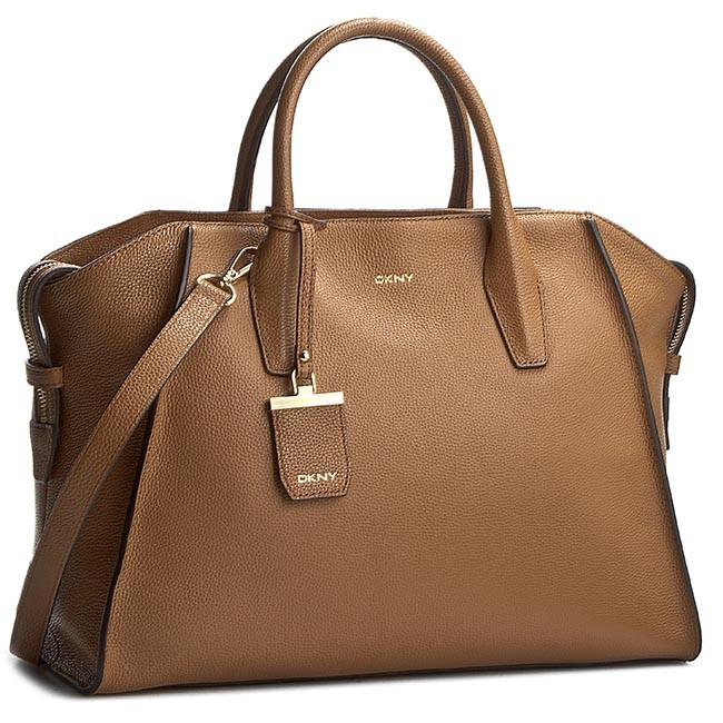 Handbag DKNY - Chelsea Vintage LT R3513606 Dark Camel