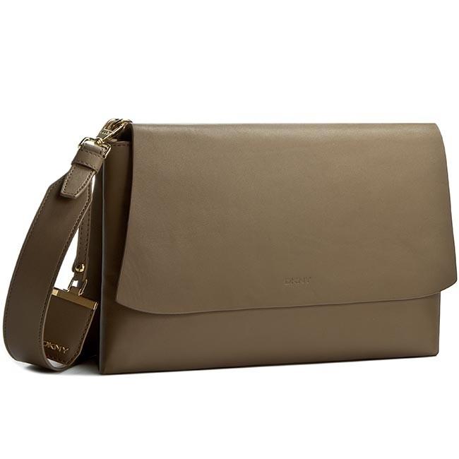 Handbag DKNY - Medium Flap Crossbody R1612102 Khaki 251