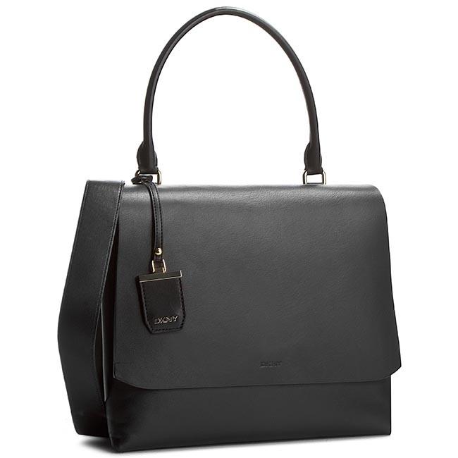 Handbag DKNY - Large Flap Shoulder R1612103 Black 001