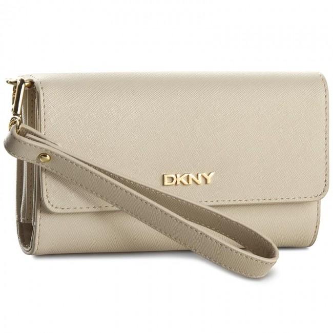 Large Women's Wallet DKNY - Bryant Park Saffian R1621106 Chino 270
