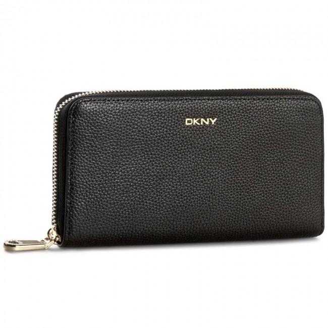 Large Women's Wallet DKNY - Chelsea Vinta R1627107 Black 001