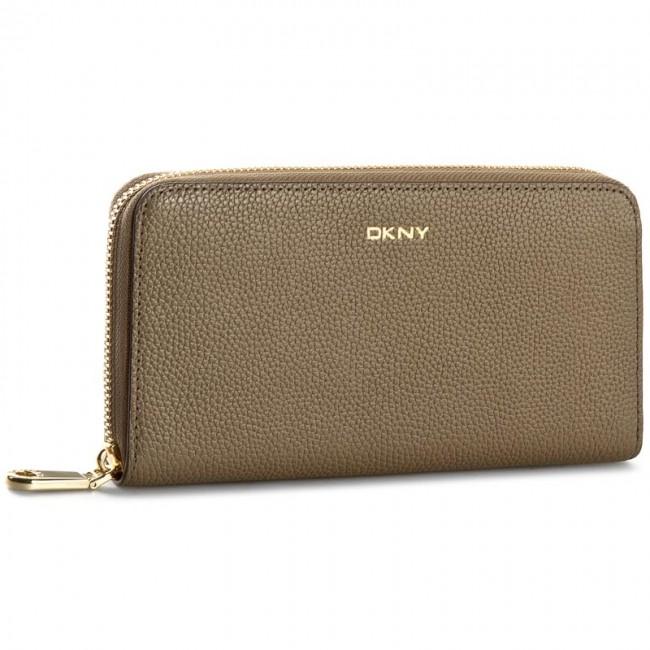 Large Women's Wallet DKNY - Chelsea Vinta R1627107 Khaki 251