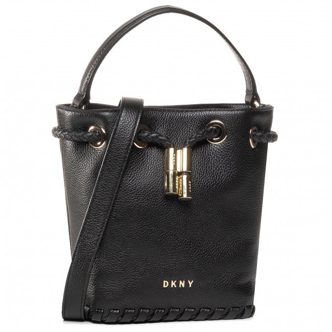 Handbag DKNY - Winnie Sm Bucket R02JUI94 Blk/Gold BGD