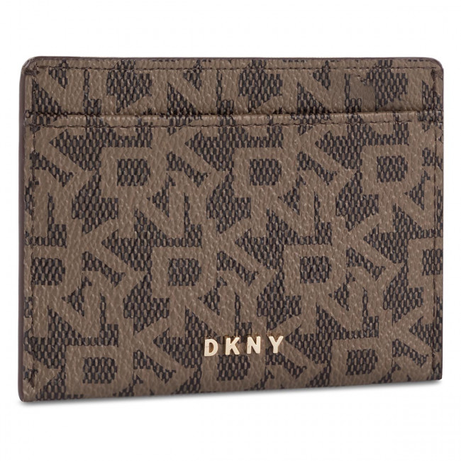 Credit Card Holder DKNY Bryant Town & Country Card Holder R92ZJC09 Moch LgDrftwd 5MF