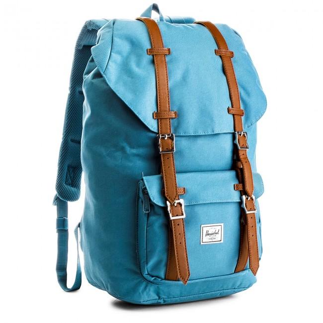 Backpack HERSCHEL - Lil Amer 10014-01854  Aegean Blue/Tan