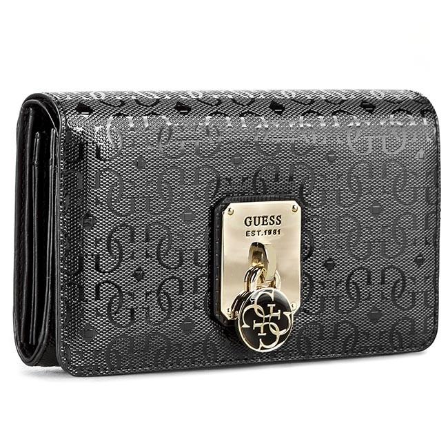 Large Women's Wallet GUESS - Rosalind (SG) SLG SWSG61 13450 BLA