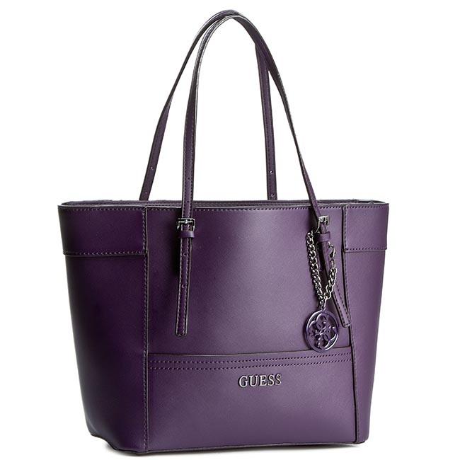Handbag GUESS - Delaney (EN) HWEN45 35220  Aubergine