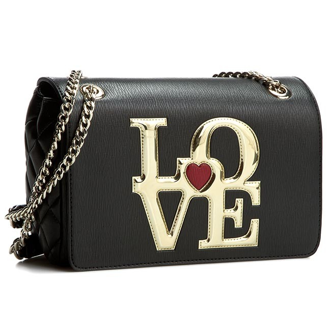 Handbag LOVE MOSCHINO Borsa Saffiano JC4052PP10LB100A Nero