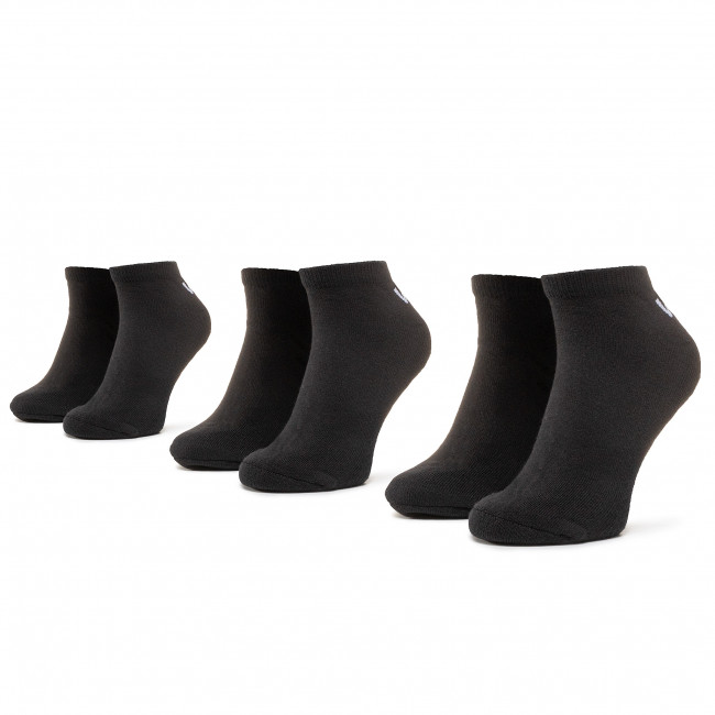 3 Pairs of Unisex High Socks VANS - Classic Low VN000XS0BLK1 r.38.5-42 Black