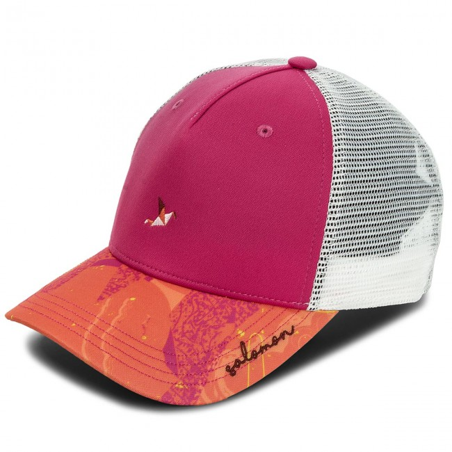 f5894757a Cap SALOMON - Mantra Logo Cap W 400470 08 G0 Pink Yarrow