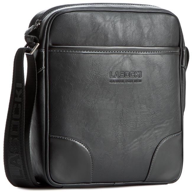Messenger Bag LASOCKI FOR MEN - RC5212 Black