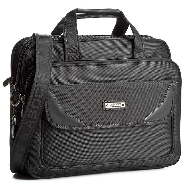 Laptop Bag LASOCKI FOR MEN - RC5369 Black
