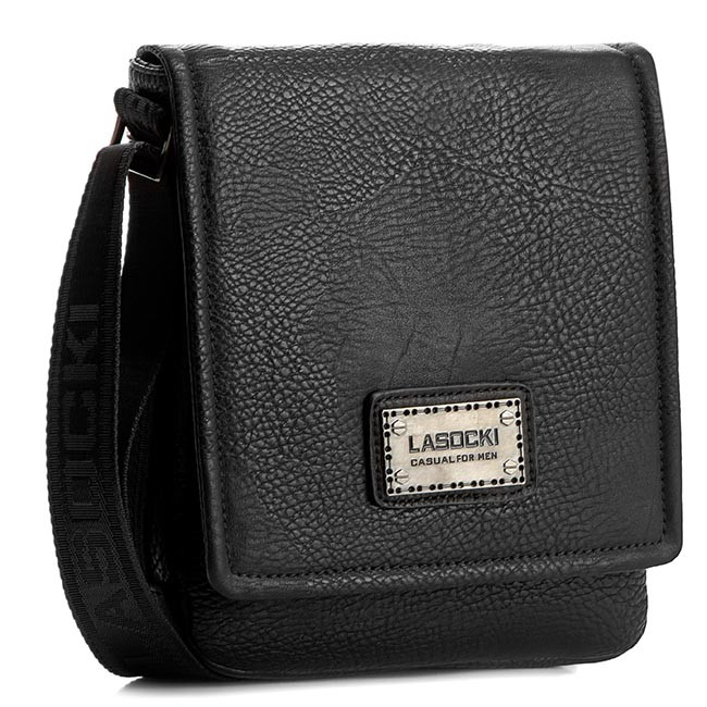 Messenger Bag LASOCKI FOR MEN - RC5434 Black