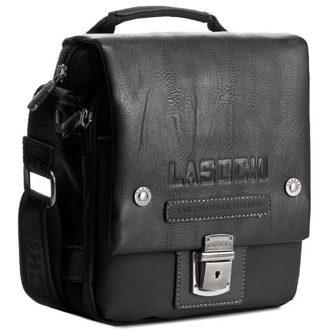 Messenger Bag LASOCKI FOR MEN - RC5371 Black