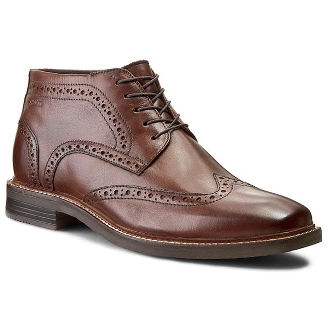 Boots LASOCKI FOR MEN - MI07-124-147-04 Brązowy Ciemny