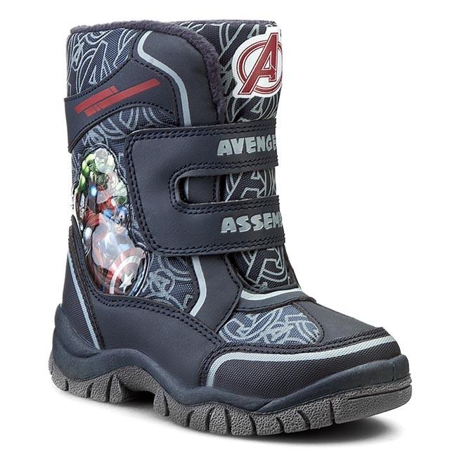 Snow Boots AVENGERS - ACP40-XL046AVMV Granatowy