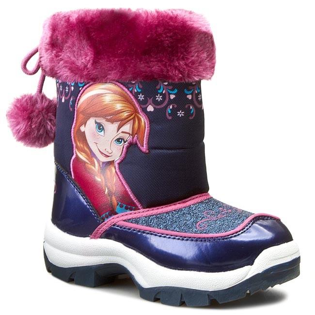 Knee High Boots FROZEN - CP40-XL045DFR  Purple