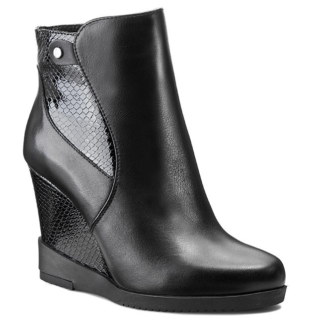Boots LASOCKI - D630 Black