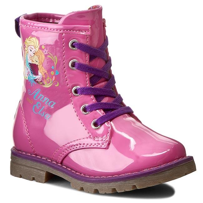 Knee High Boots FROZEN - C20QL28-3DFR Różowy Ciemny