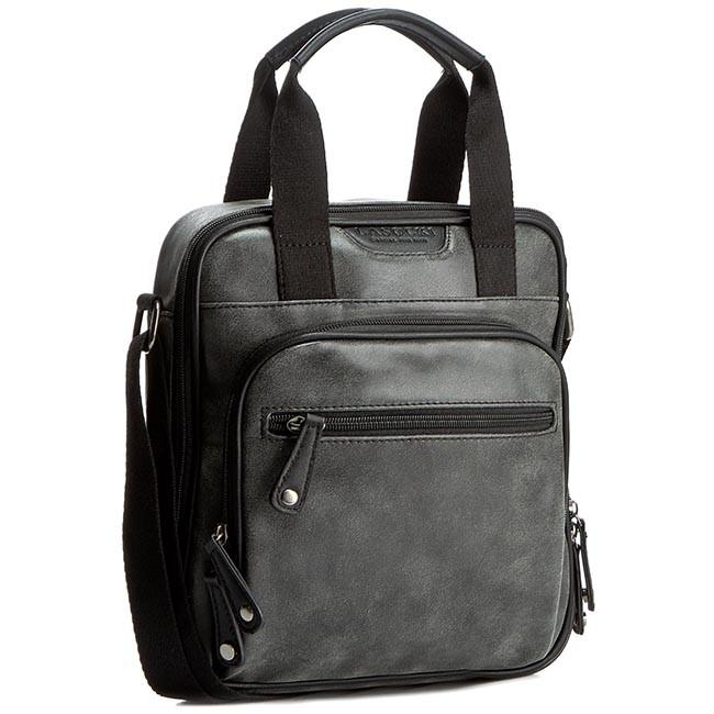 Messenger Bag LASOCKI FOR MEN - RM0012 Czarny