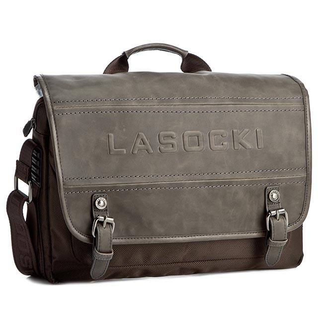 Bag LASOCKI FOR MEN - RM0016 Brown