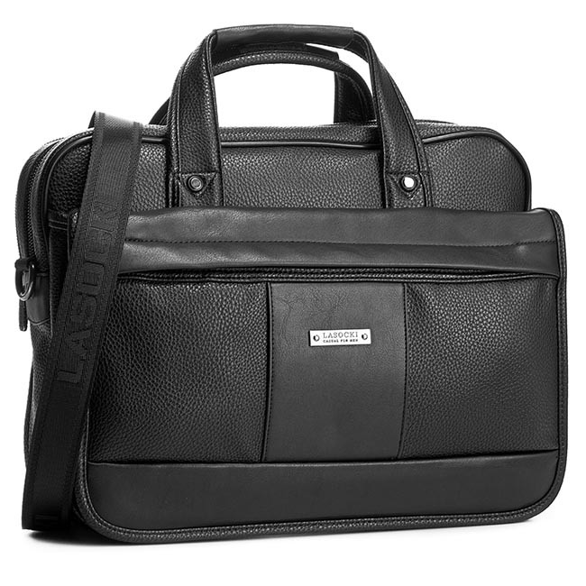 Laptop Bag LASOCKI FOR MEN - RM0022 Black