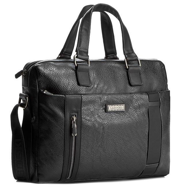 Laptop Bag LASOCKI FOR MEN - RM0068 Black