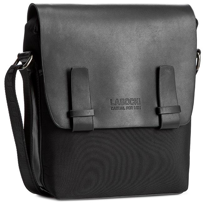 Messenger Bag LASOCKI FOR MEN - RM0038  Black