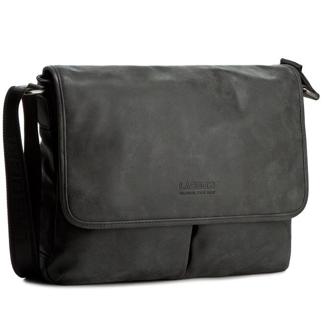 Laptop Bag LASOCKI FOR MEN - RM0054A Czarny