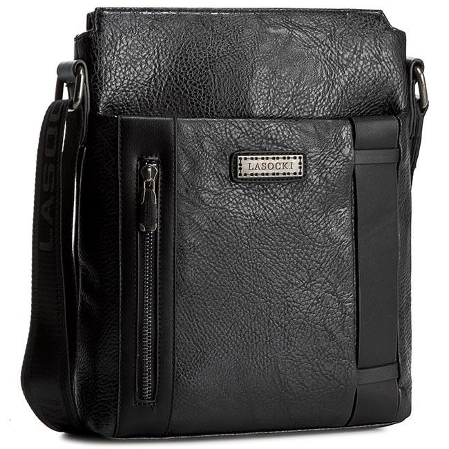 Messenger Bag LASOCKI FOR MEN - RM0067  Black