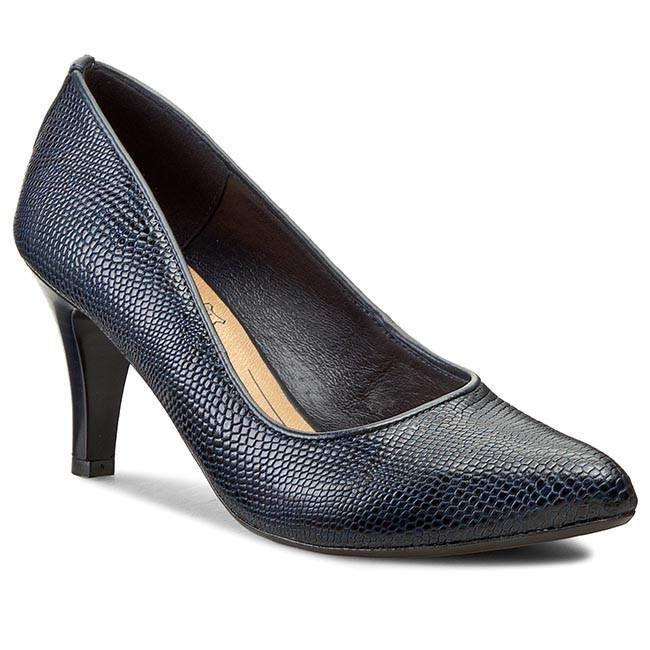 Shoes LASOCKI - 727-01T Granatowy