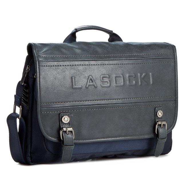 Laptop Bag LASOCKI FOR MEN - RM0016 Navy Blue