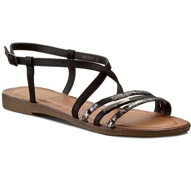 Sandals VIA RAVIA - WS1518-1 Black