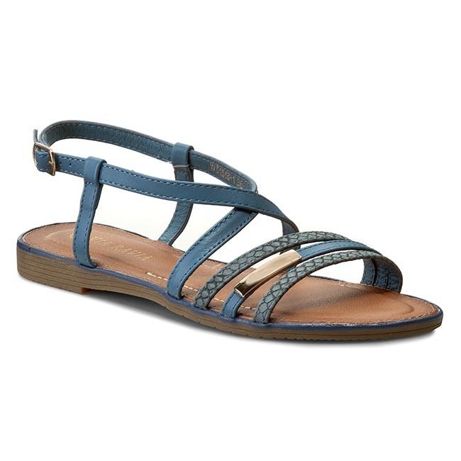 Sandals VIA RAVIA - WS1518-1 Navy Blue