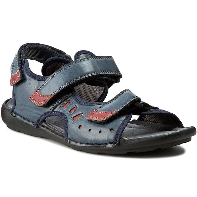 Sandals GINO LANETTI - M16SS1881-180 Navy Blue
