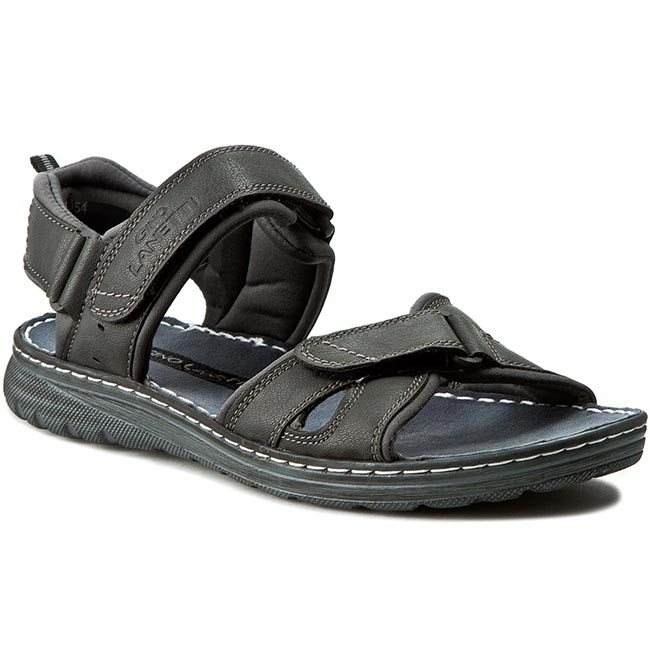 Sandals GINO LANETTI - M16SS054 Granatowy