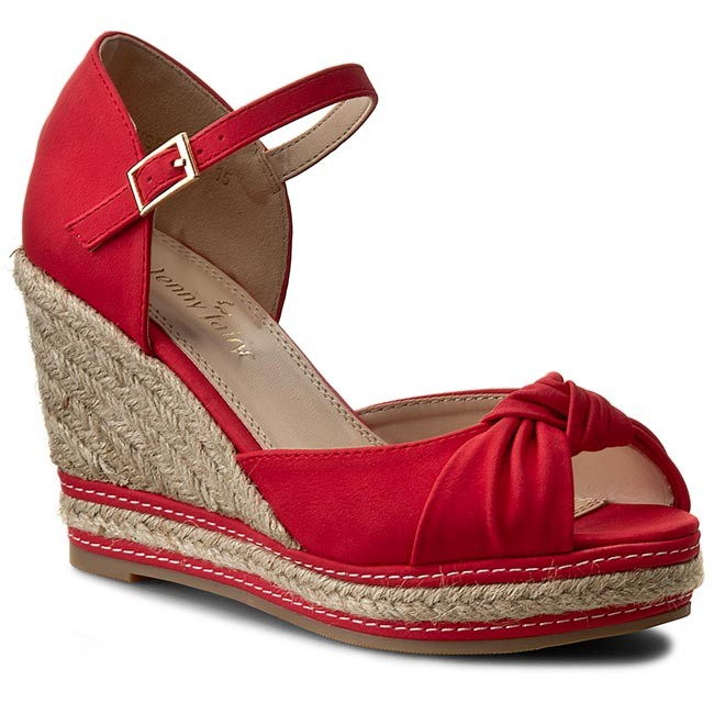 Espadrilles JENNY FAIRY - WS5833-1 Red