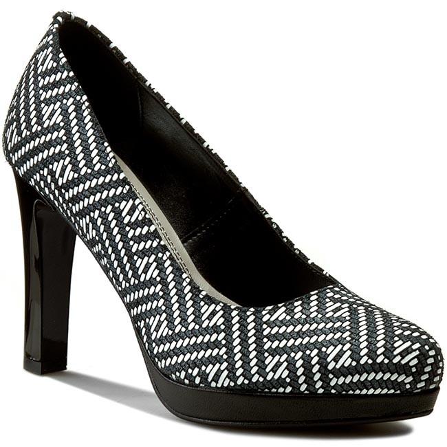 Shoes LASOCKI - 70652-01F Biały/Czarny