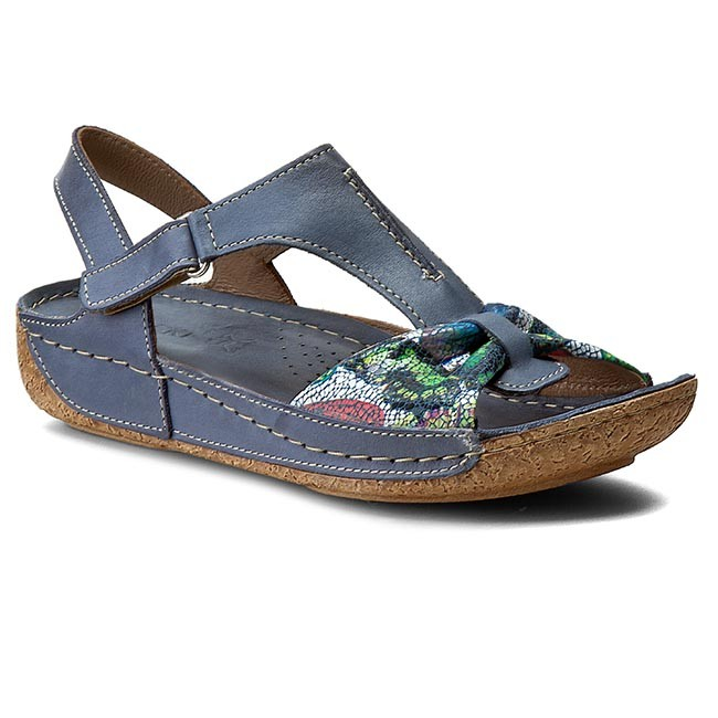 Sandals LASOCKI - 1382-11 Blue