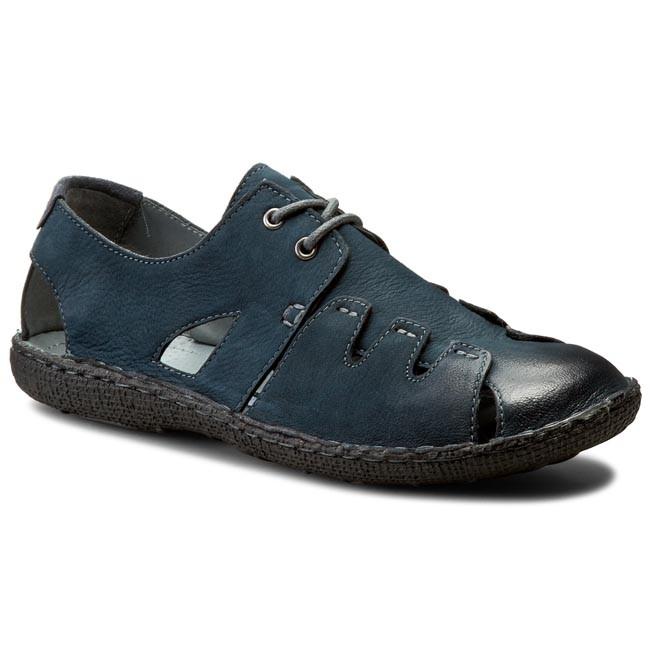 Shoes LASOCKI FOR MEN - MI07-448-51-02 Navy Blue