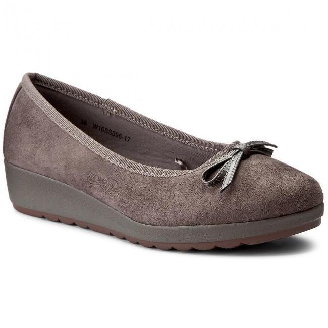Shoes CLARA BARSON - W16SS096-17 Beżowy Ciemny
