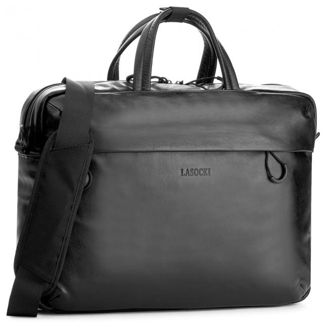 Laptop Bag LASOCKI FOR MEN - BRT-247 Czarny 1