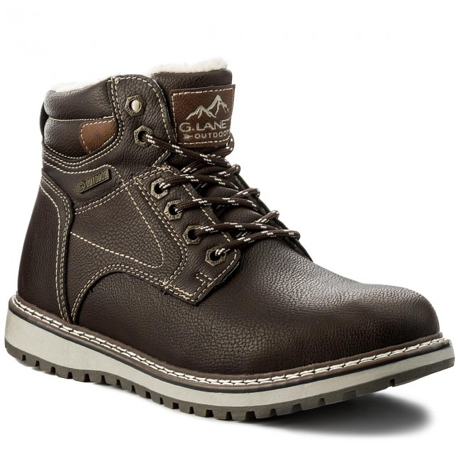 Knee High Boots GINO LANETTI - MP07-17028-01 Brown