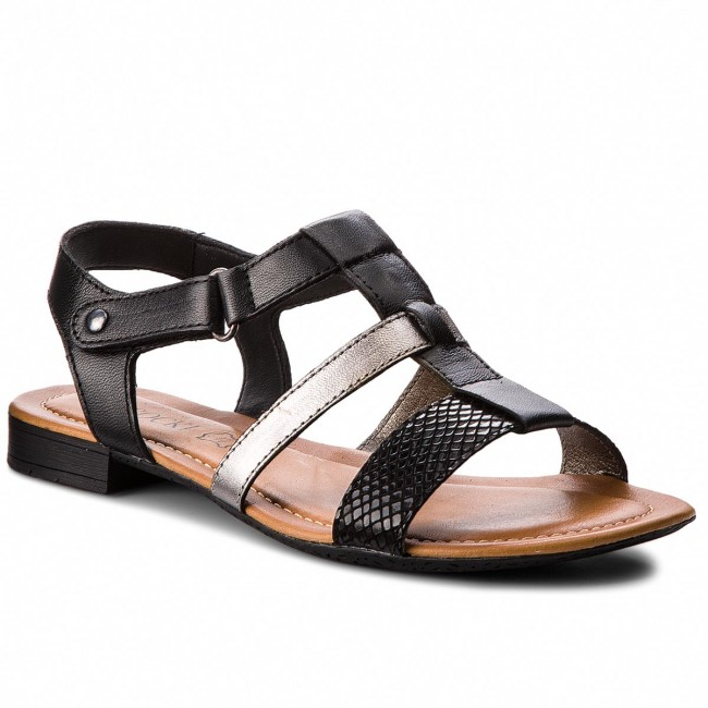 Sandals LASOCKI - WI23-NORA-10 Czarny